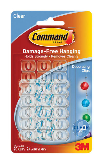 Command Decorating Adhesive Clip
