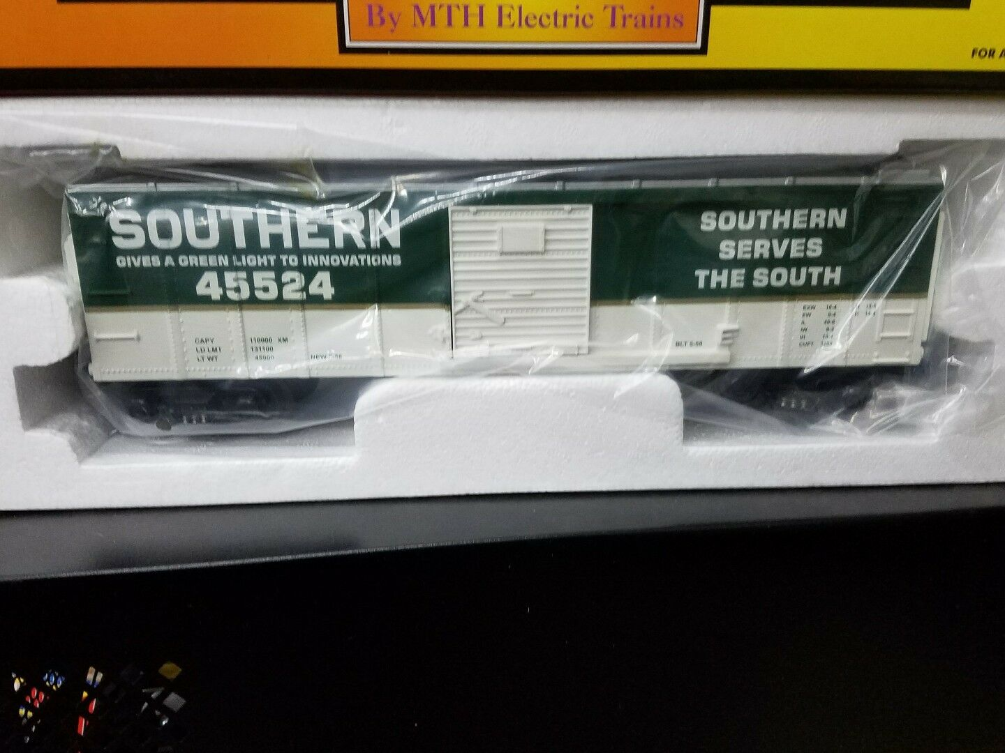 MTH Rail King Southern Box Car Single Door 30-74072 NIB