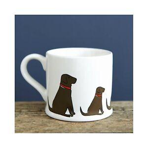 Sweet-William-CHOCOLATE-LABRADOR-Dog-Mug-Great-Gift-for-Lab-Lovers-FREE-P-amp-P