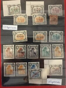 NYASSA-FAUNA-PORTUGAL-COLONIES-STAMPS-19-VERY-NICE-STAMPS