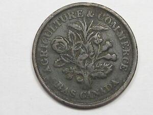Lower-Canada-Montreal-Half-Penny-Token-Bouquet-Sou-Breton-715-CANADA-50