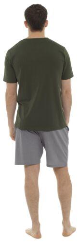 Tom Franks Mens Novelty Cotton Jersey T-Shirt /& Shorts Pyjama Lounge Set