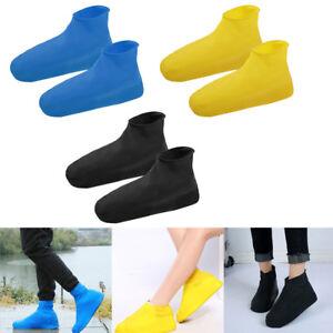 Unisex-Disposable-Boot-amp-Shoe-Covers-Waterproof-Slip-Resistant-Shoe-Booties