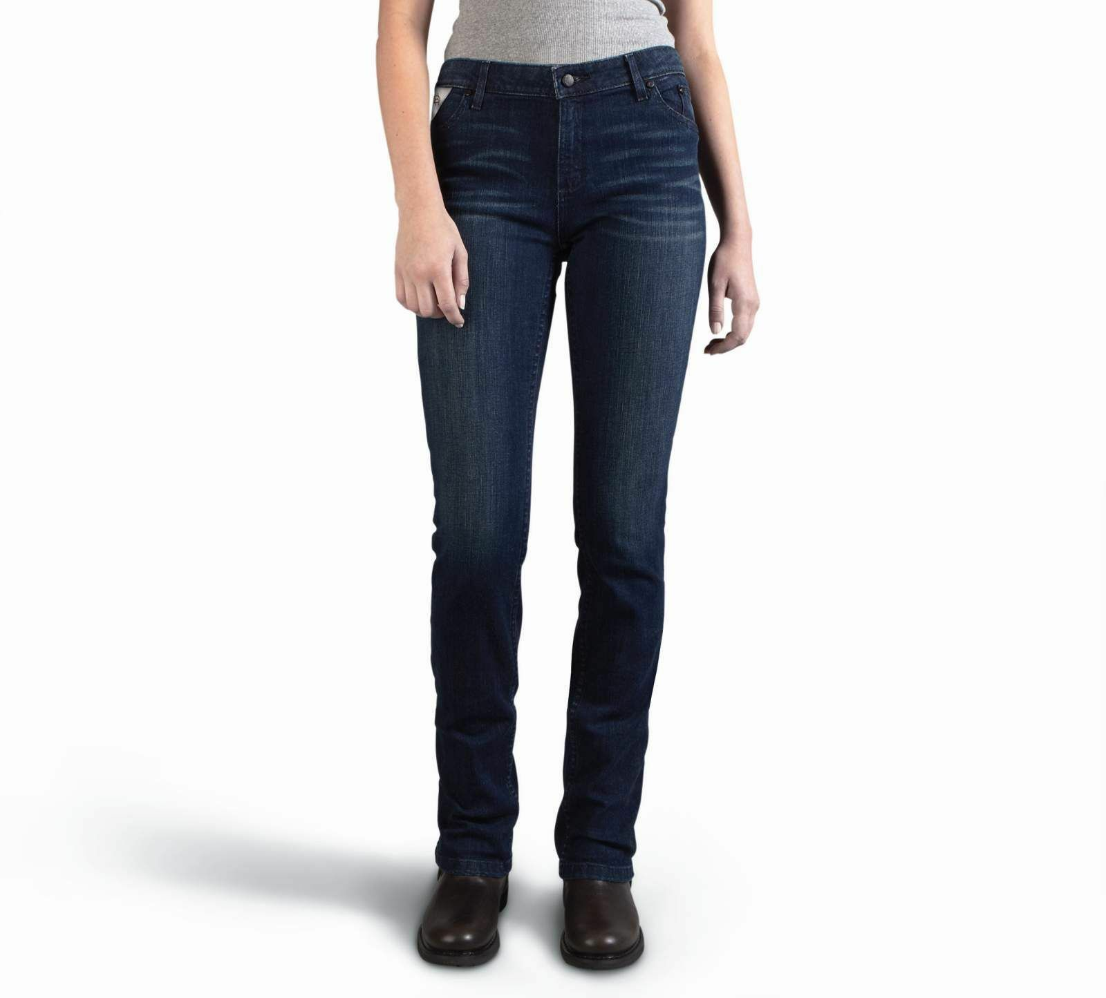 Harley Davidson Women's Slim Boot Cut Mid-Rise Jeans 99179-16VW SIZE 26