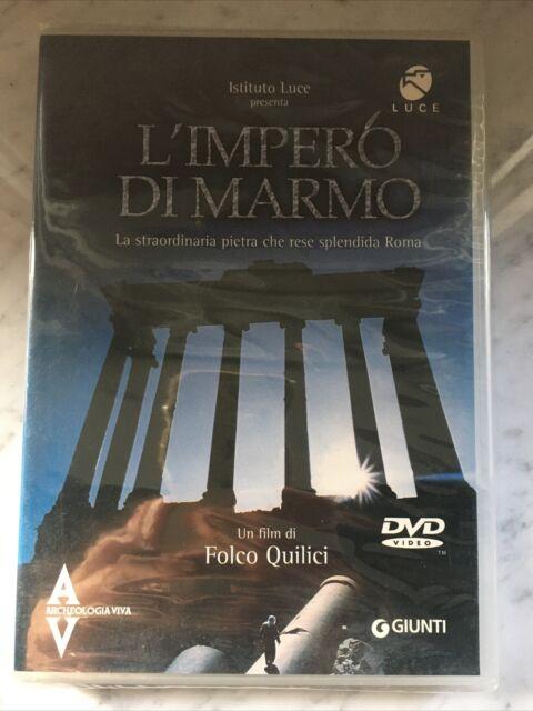 L'IMPERO DI MARMO - DVD - FOLCO QUILICI - LUCE - NUOVO SIGILLATO NEW SEALED