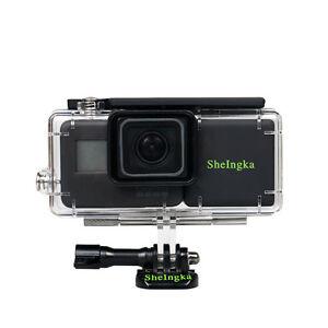 100% De Qualité Boîtier étanche Avec Externe 2300 Mah Batterie Pour Gopro Hero 5 Caméra D'action-afficher Le Titre D'origine