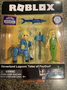 Details about ROBLOX 2019 NEVERLAND LAGOON: TALES OF FEYDORF FRIEDRICH &  DELILAH W/CODE NEW