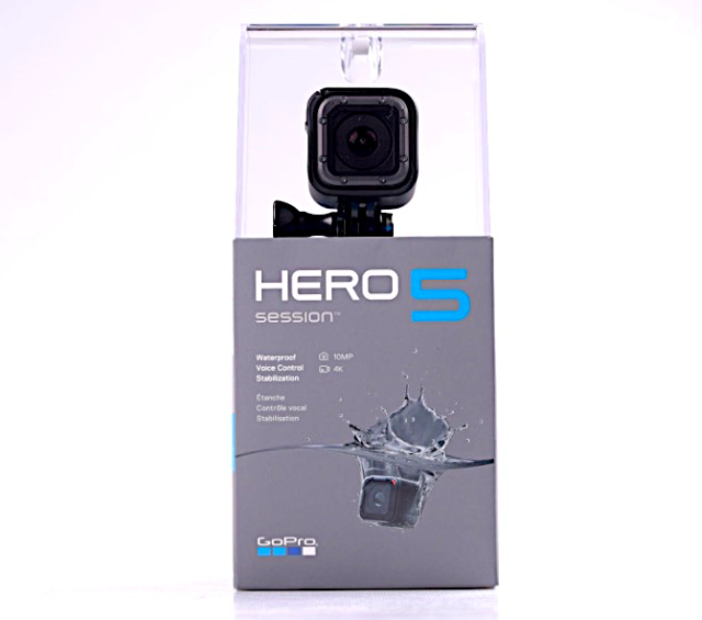 GoPro Hero5 Session Edition 4K Ultra HD, Wi-Fi Waterproof Camera NEW +WARRANTY