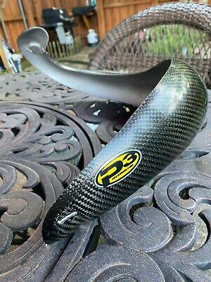 Enduro Engineering Carbon Fiber Pipe Guard Stock for Husaberg TE 250 2012-2014