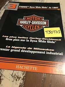 Fascicle-3-Harley-Davidson-FXDWG-Dyba-Wide-Glide-1997-Hachette