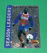 GEORGE WEAH MISTER FOOTBALL CARD 1994-1995 PARIS SAINT-GERMAIN PSG PANINI