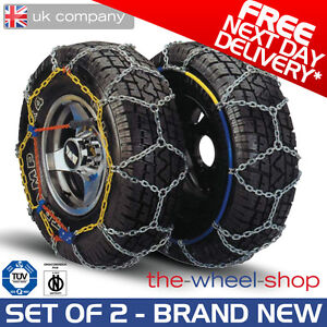 driving with snow chains