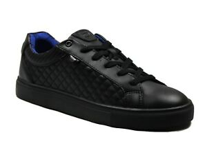 Boys Kids New DEAKINS School Casual Leather Shoes Lace-Up Style In Black Colour