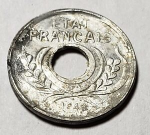 1943-French-Indonesia-Indochina-Indo-China-5-Cents