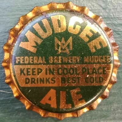 Cork backed unused bottle cap Federal Brewery Mudgee Circa 1950/'s