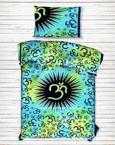 Indian Cotton Duvet Doona Cover Comforter Hippie Bohemian Twin Quilt Cover Set