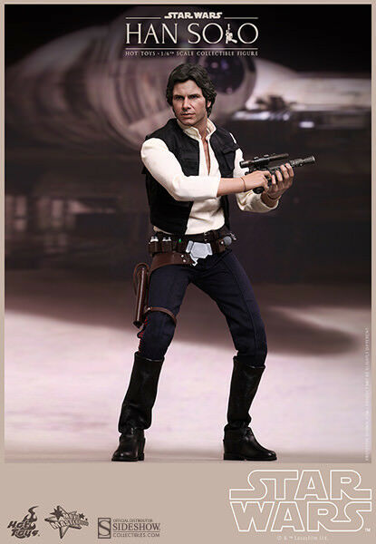 STAR WARS  HAN SOLO 1 6 Action Figure 12  HOT TOYS