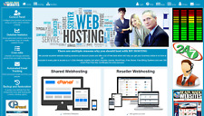 Style 3012 Ready Made Reseller Webhosting Website Free Billing System Included