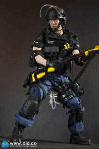 Dragon en DREAMS DID 1/6 Modern US Takeshi Yamada LAPD SWAT 3 police de Los Angeles 							 							</span>