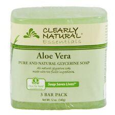 Jabon De Glicerina Natural Con Aloe Vera - Para La Cara Y Acne - Paquete De 3