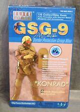 Desert Camo Helmet w//Radio Konrad 1//6 scale toy GSG9 Border Protection