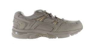 Vionic Womens Walker Taupe Leather Walking Shoes Size 9 (1677169)