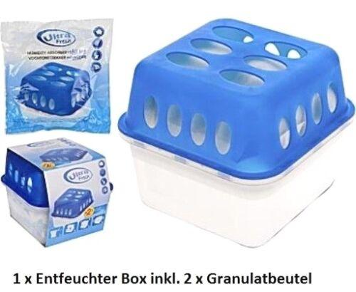 Deumidificatore Set Box con 2x400g granulato spazio entfeuchter entfeuchter asciugatrice