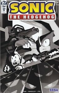 SONIC-THE-HEDGEHOG-2018-17-RI-Variant-Cover-New-Bagged