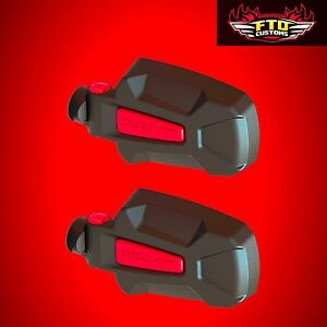 Polaris Rzr Seizmik Pursuit Red Elite Hd Side View Mirrors