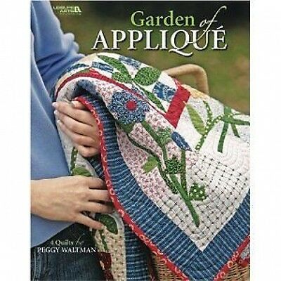 Garden Of Applique Quilting Pattern Booklet 4 Designs - Leisure Arts #4131