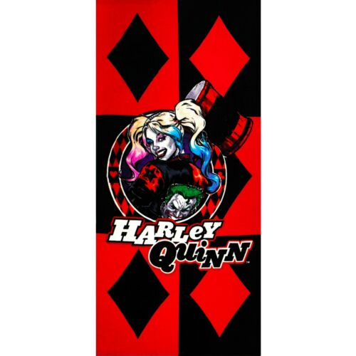 Red Diamond JPI Licensed DC Comics Harley Quinn Bath//Pool//Beach Towel