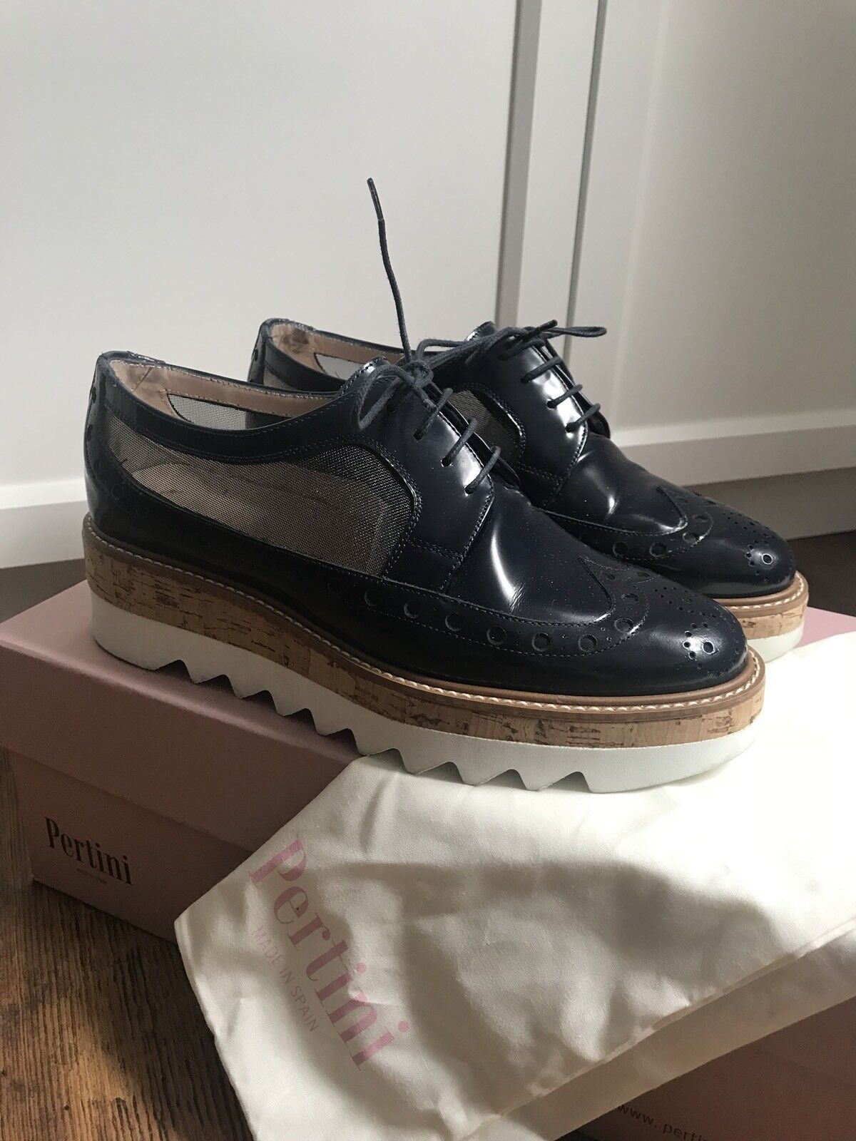 Kaufen Pertini Slipper Loafer Design schwarz Damen