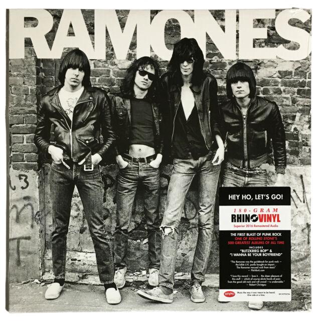 Ramones 'Ramones' 180g LP Vinyl Superior 2016 Remastered Audio - New Sealed