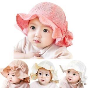 8777481883d Toddler Infant Sun Cap Summer Outdoor Baby Girl Hats Beach Bucket ...