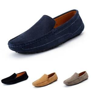 Men Driving Moccasins Shoes Canvas Pumps Slip on Loafers Flats Breathable Soft L