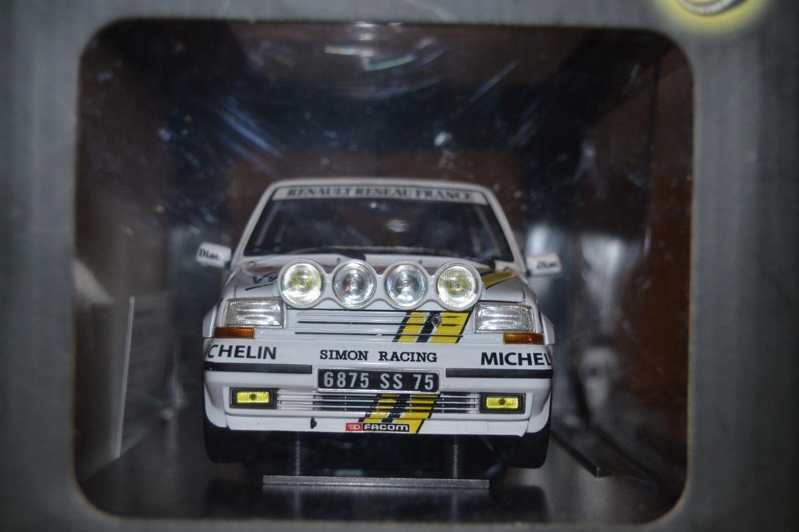 Renault 5 GT 1/18 Norev Oreille night race