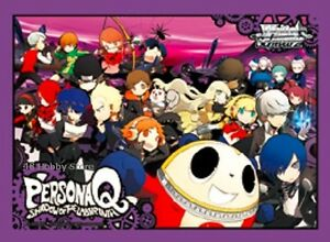 Persona Q Shadow of the Labyrinth P3 P4 P5 PQ Weiss Schwarz Promo Card Sleeves