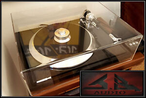 EAT-E-Flat-J-n-B-Audio-034-Pro-Series-034-Turntable-Dust-Cover-Table-Set-Top