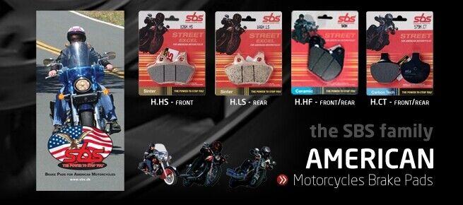 Harley Davidson motorcycle brake pads