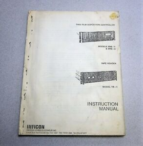 Inficon-XMS-1-amp-XMS-3-Thin-Film-Deposition-Controller-Instruction-Manual-006-040