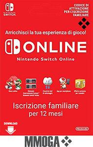 Nintendo-Switch-Online-Famiglia-Membri-12-mesi-365-giorni-Codice-Digitale-IT