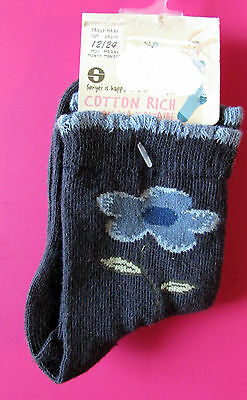 Soft Touch chaussettes blanche à revers coton bébé unisexe  3 à 24 mois