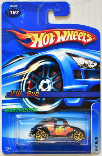 Hot Wheels 2006 VW Käfer #197 Schwarz