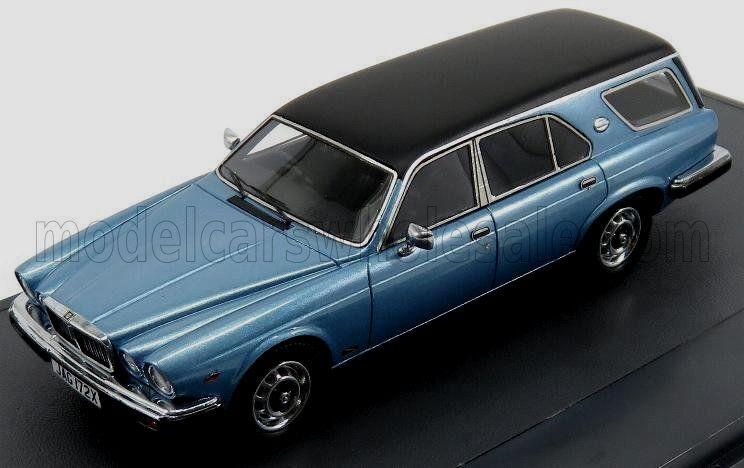 Merveilleux MODELvoiture Jaguar Xj Siii Ladbroke Estate 1980-bleumetallic - 1  43  nouveaux styles les plus en vogue