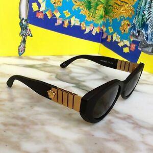 aca2ef0b8f vintage GIANNI VERSACE sunglasses mod 480 B col 915 Brown w  case