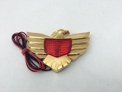Eagle emblem, lighted Red
