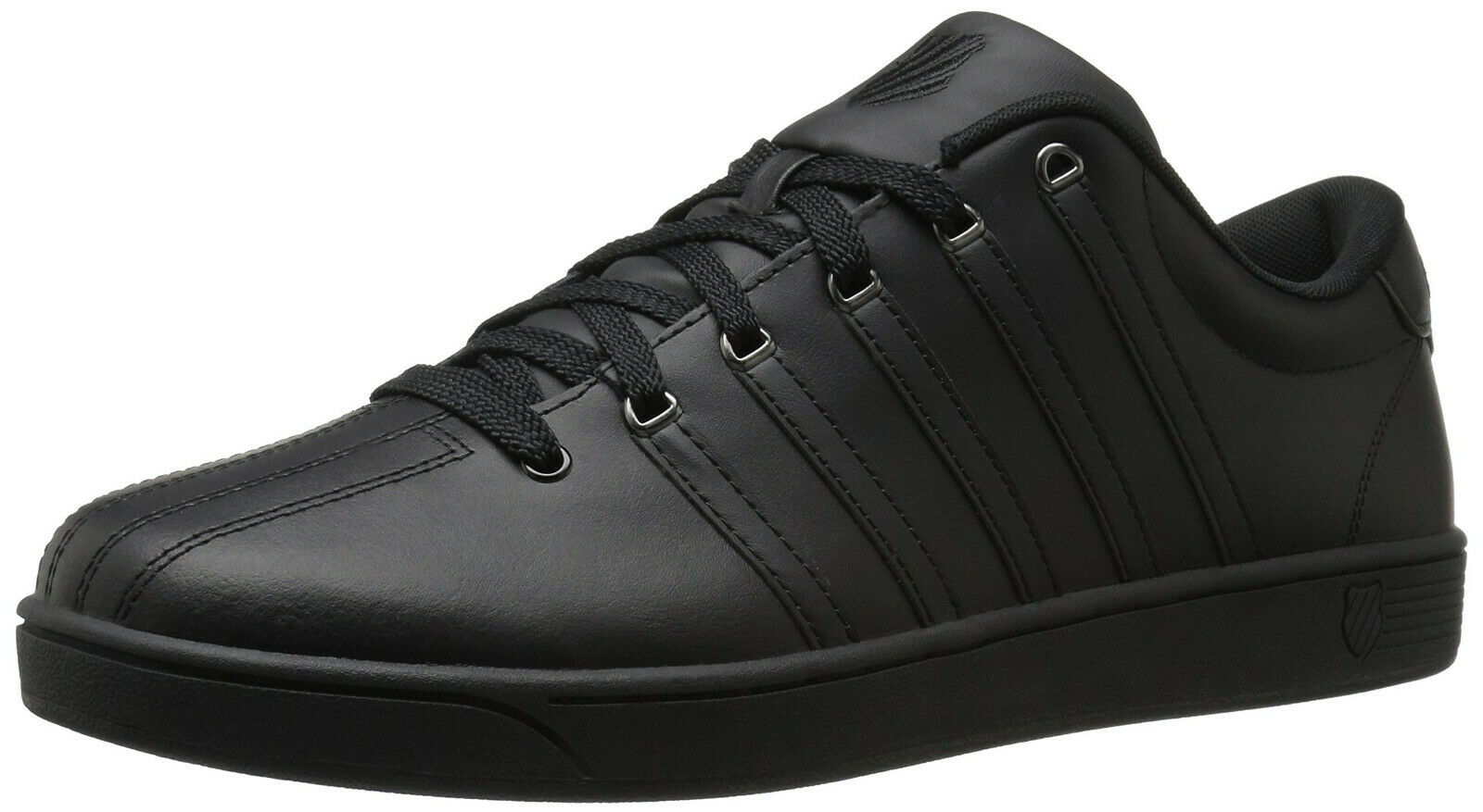 K -Swiss Court Pro II CMF Men's Low  nero  Gunmetal Leather scarpe 03629 -033 -M  spedizione e scambi gratuiti.