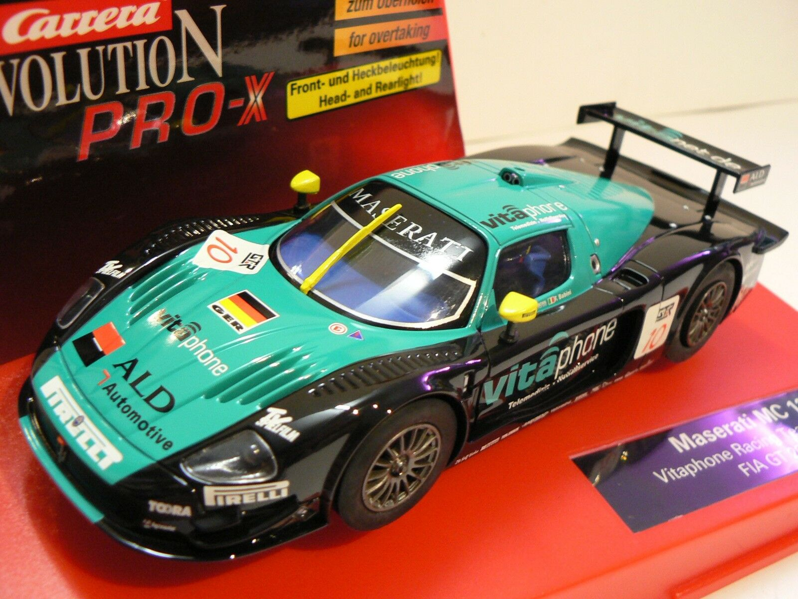 CARRERA Pro-X 30251 Maserati MC 12 VITAPHONE RACING TEAM 2005 NUEVO