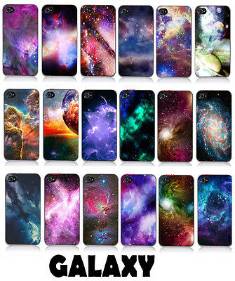 Galaxy Space Universe Hard Case Cover Protector Fit Iphone 4/4S 1pc Gift