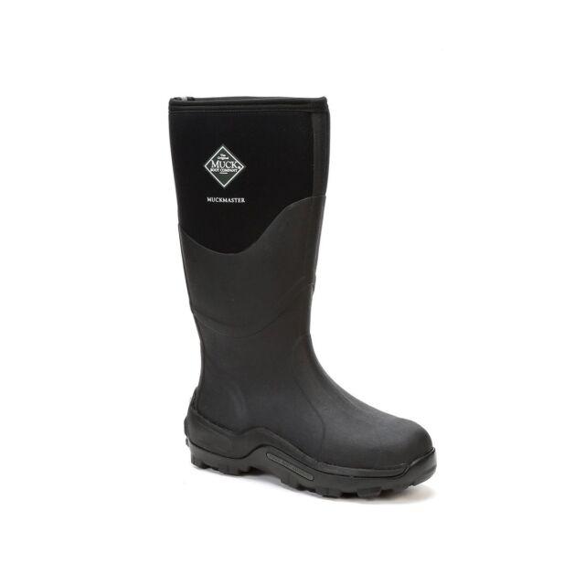 e744c6c8c Muck Boots Company Adult Women's/Men's MUCKMASTER HI, BLACK, Neoprene  Waterproof